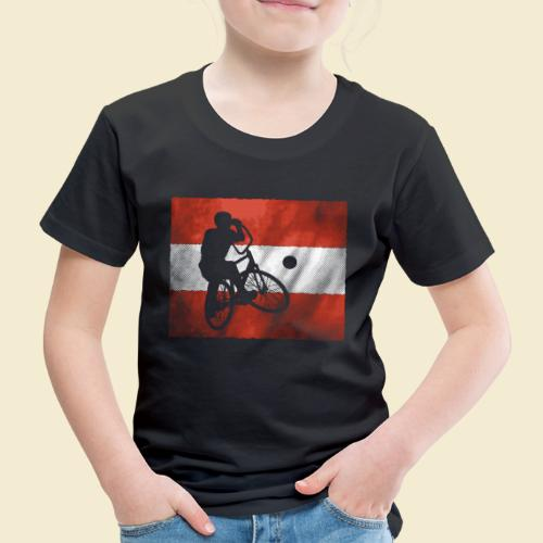 Radball   Flagge Österreich - Kinder Premium T-Shirt