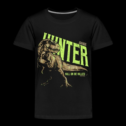Dinosaurier Tyrannosaurus rex - Kinder Premium T-Shirt