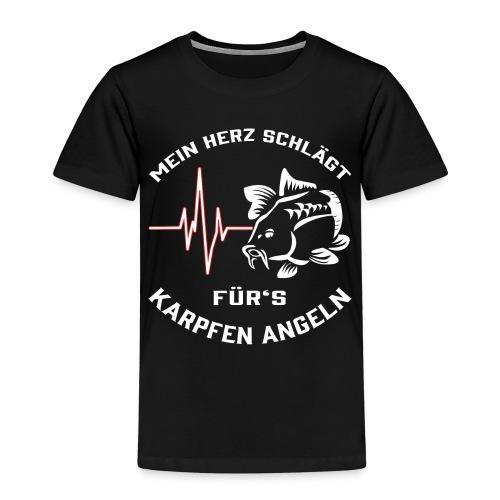 Karpfen Angeln - Kinder Premium T-Shirt