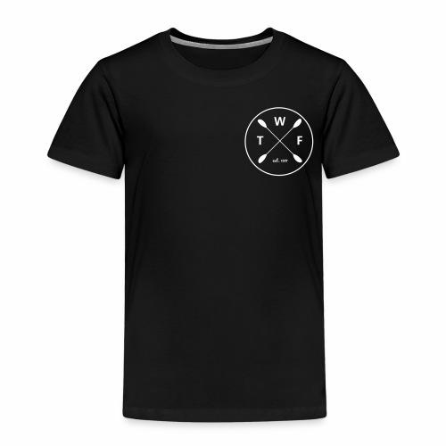 Weisses Logo klein - Kinder Premium T-Shirt