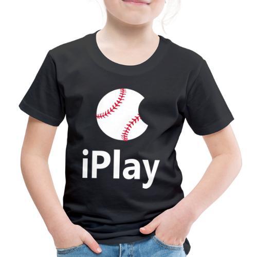 Baseball Logo iPlay - Kids' Premium T-Shirt