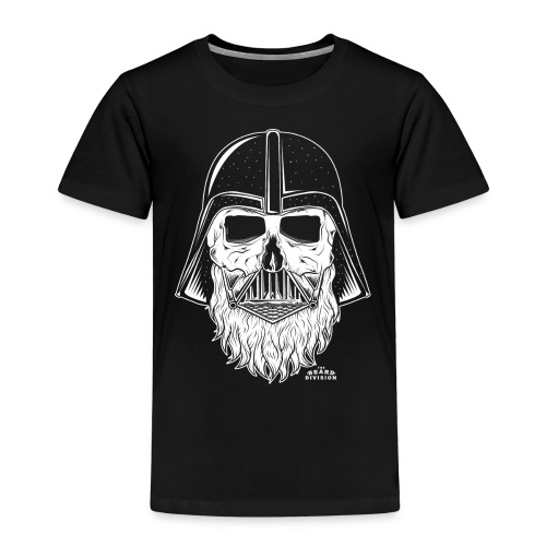 TBD Beard Vader White - Kinder Premium T-Shirt