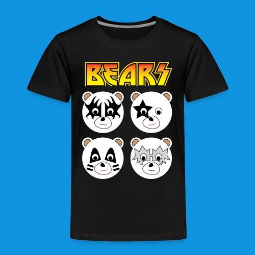 Kiss Bears square.png - Kids' Premium T-Shirt