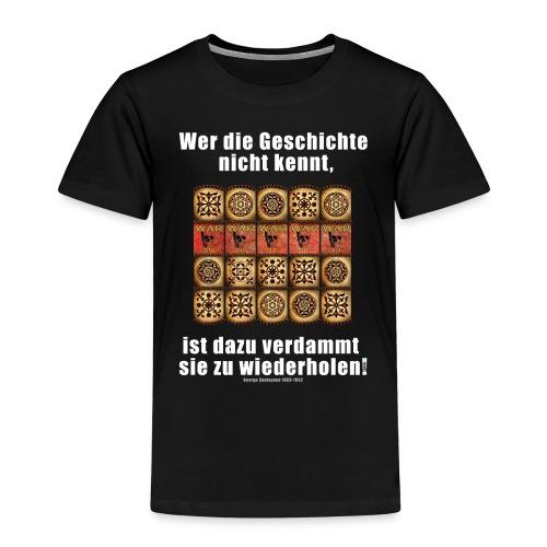 71_Geschichte_Lernen - Kinder Premium T-Shirt