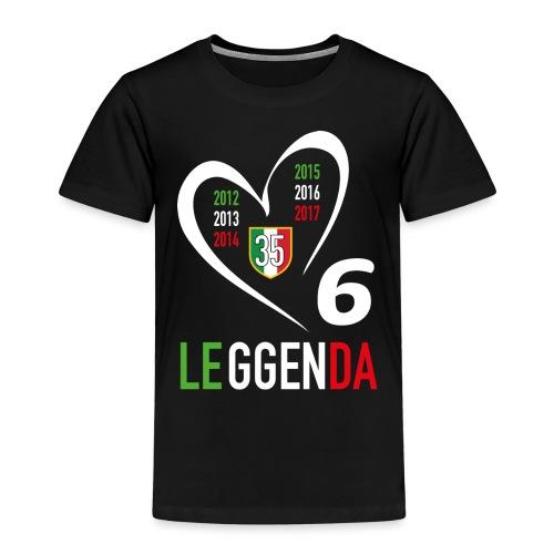 LE6GENDA - Maglietta Premium per bambini
