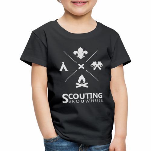 Scouting Brouwhuis - Kinderen Premium T-shirt