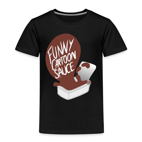 FUNNY CARTOON SAUCE - FEMALE - Kids' Premium T-Shirt