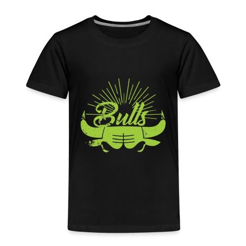 Toros verdes, Bulls BasketBall deporte - Camiseta premium niño