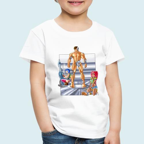Terminator e meccaniche col - Maglietta Premium per bambini
