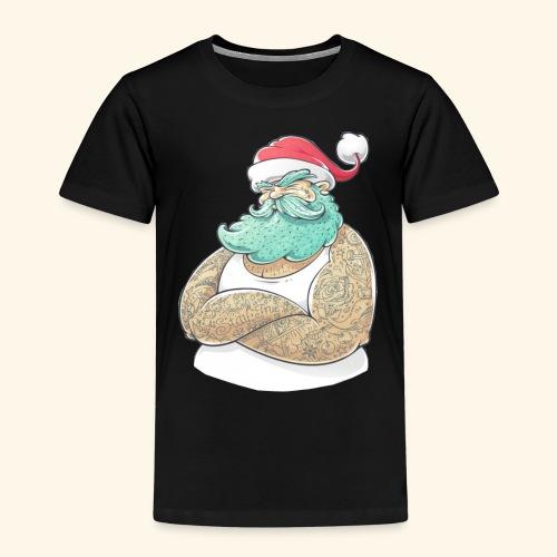 santa claus moderno - Camiseta premium niño