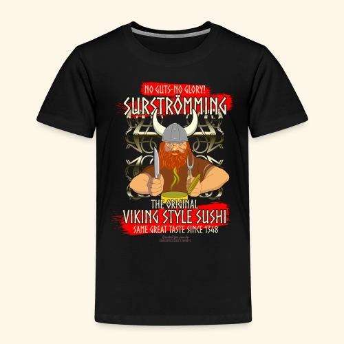Surströmming Challenge Viking Sushi T-Shirt - Kinder Premium T-Shirt