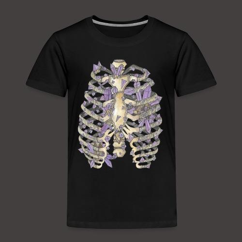 La Cage Thoracique de Cristal couleur - T-shirt Premium Enfant