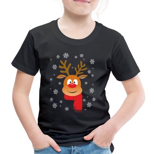 RENO DE NAVIDAD - Camiseta premium niño
