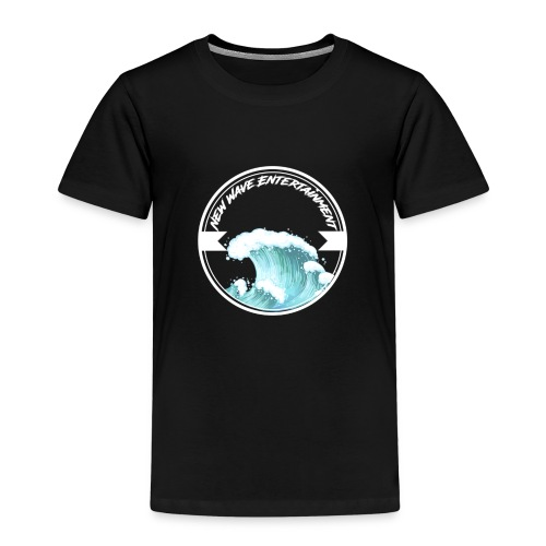 New Wave Entertainment Logo T-Shirt [Support Us] - Kids' Premium T-Shirt