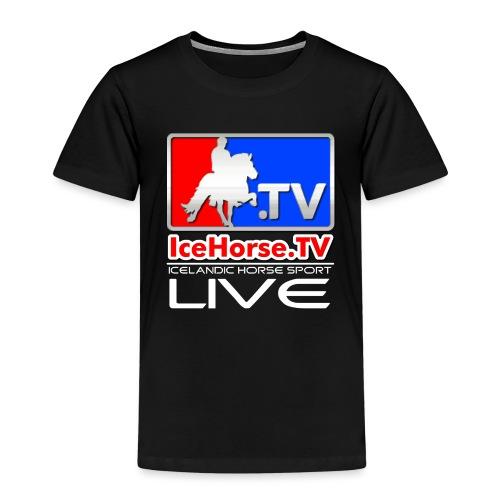 IceHorse logo - Kids' Premium T-Shirt