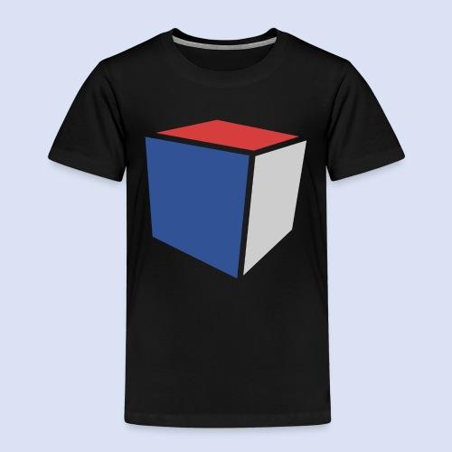 Cube Minimaliste - T-shirt Premium Enfant