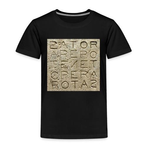 Quadrato Sator - Maglietta Premium per bambini