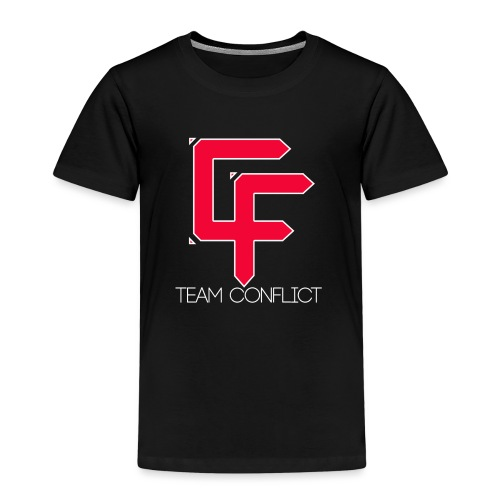 CF Final White Border t shirts with text thin whit - Kids' Premium T-Shirt