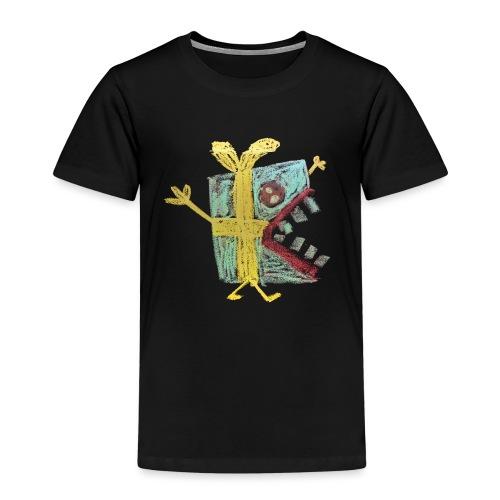 cadeautje monster - Kinderen Premium T-shirt