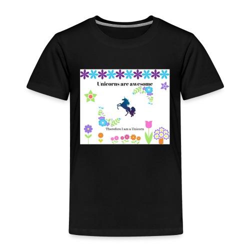 Fantastiske Enhjørninger - Premium T-skjorte for barn