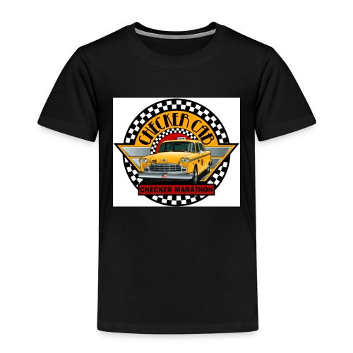 checker logo maraton - Premium-T-shirt barn