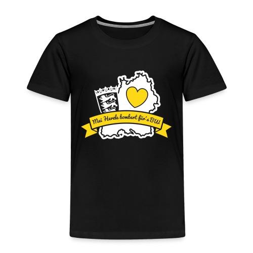 Herzle BW - Kinder Premium T-Shirt