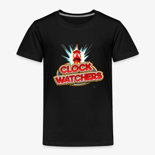 The Clockwatchers logo - Kids' Premium T-Shirt
