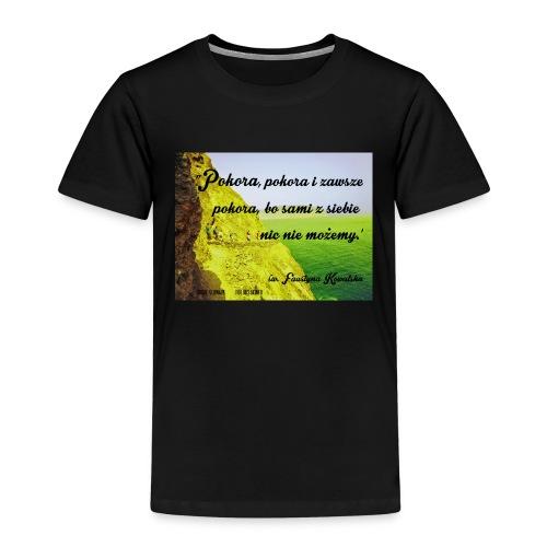 CYTATY FAUSTYNA KOWALSKA - Koszulka dziecięca Premium
