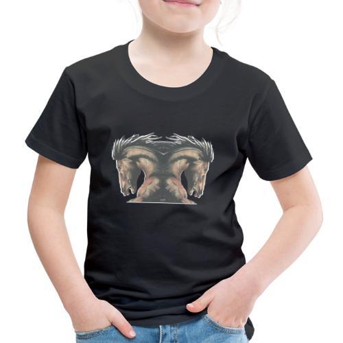 Cheval cabré étalon - T-shirt Premium Enfant