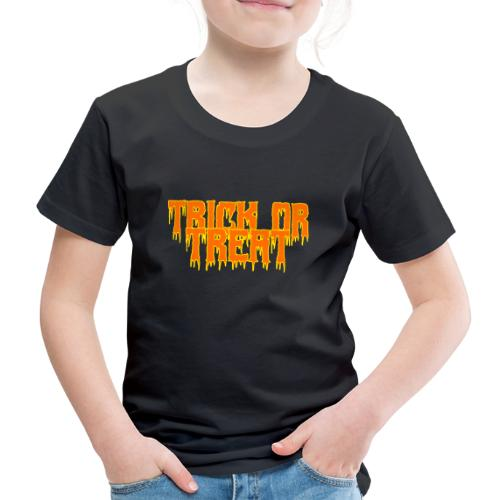 Trick or Treat Halloween Süßes oder Saures 2. Idee - Kinder Premium T-Shirt