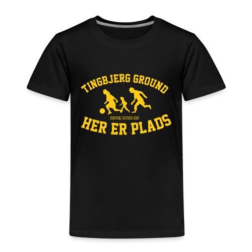 Tingbjerg Ground - her er plads - Børne premium T-shirt