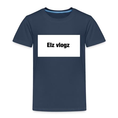 Elz vlogz merch - Kids' Premium T-Shirt