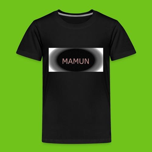 manmun - Børne premium T-shirt