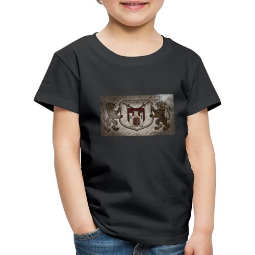 Schwertkampf Lüneburg Logo - Kinder Premium T-Shirt