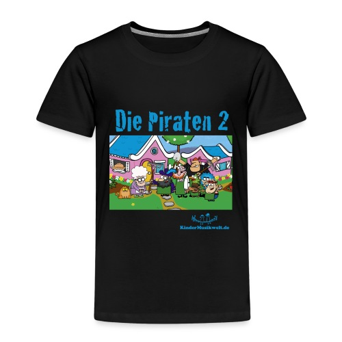 Piraten 2 Im Garten - Kinder Premium T-Shirt