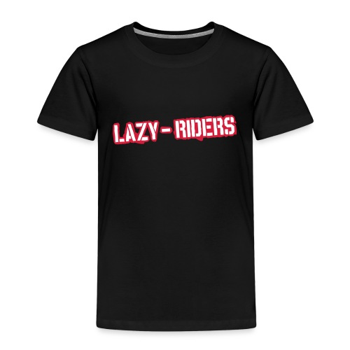 Lazy-Riders Logo - Kinder Premium T-Shirt