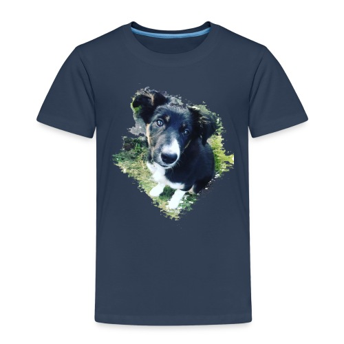 colliegermanshepherdpup - Kids' Premium T-Shirt