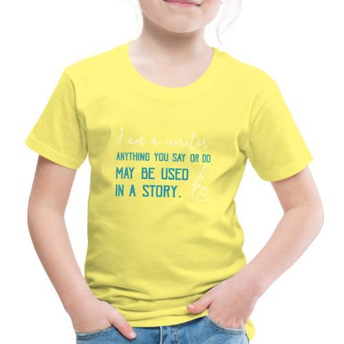 0268 Author | Writer | History | novel - Kids' Premium T-Shirt