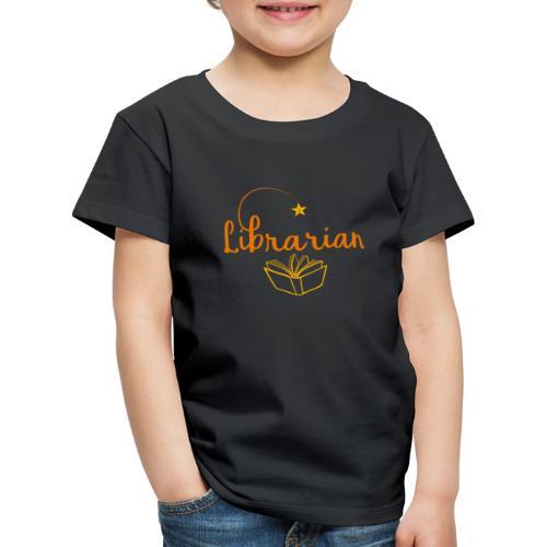 0327 Librarian Librarian Library Book - Kids' Premium T-Shirt