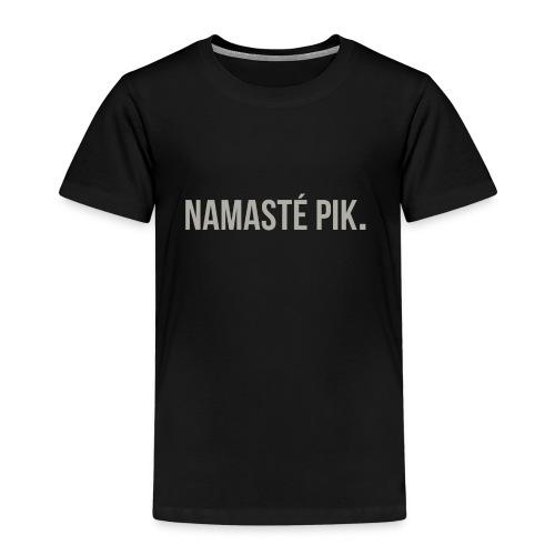 Namasté pik. - mannen - Kinderen Premium T-shirt