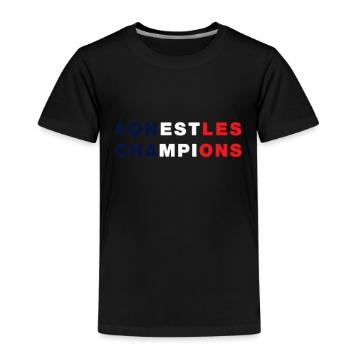 France - On est les champions - 1998 - 2018 - Foot - T-shirt Premium Enfant