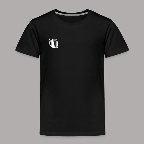 Zirkel, weiss (vorne) Zirkel, weiss (hinten) - Kinder Premium T-Shirt
