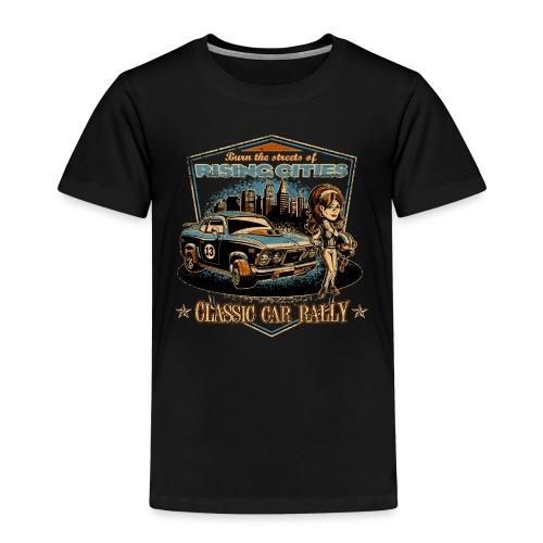 risingcities classiccarrally - Kinder Premium T-Shirt