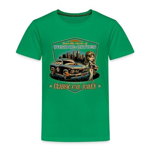 risingcities classiccarrally - Kinder Premium T-Shirt