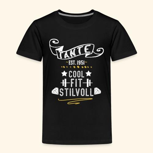 TANTE COOL FIT STILVOLL JAHRGANG 1951 - Kinder Premium T-Shirt