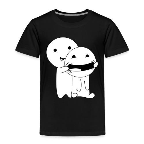 Lächeln Smile Spaß - Kinder Premium T-Shirt