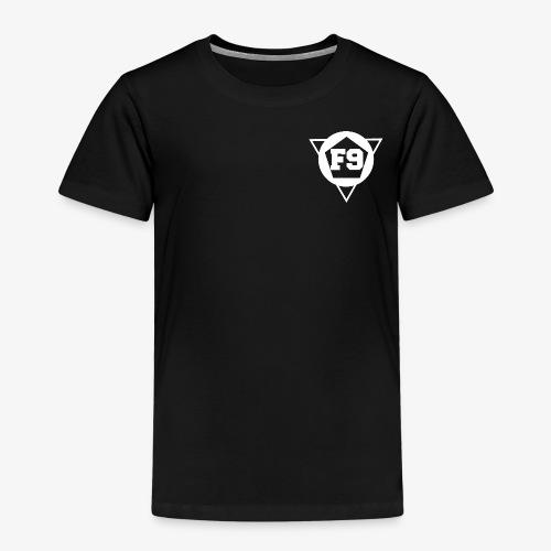 False 9 official logo white png - Kids' Premium T-Shirt