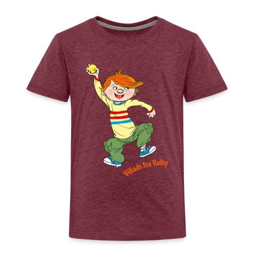 Villads fra Valby - Børne premium T-shirt
