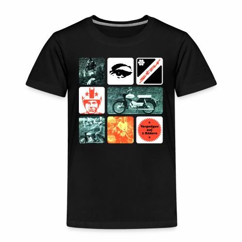 Simson Star Moped - Kids' Premium T-Shirt