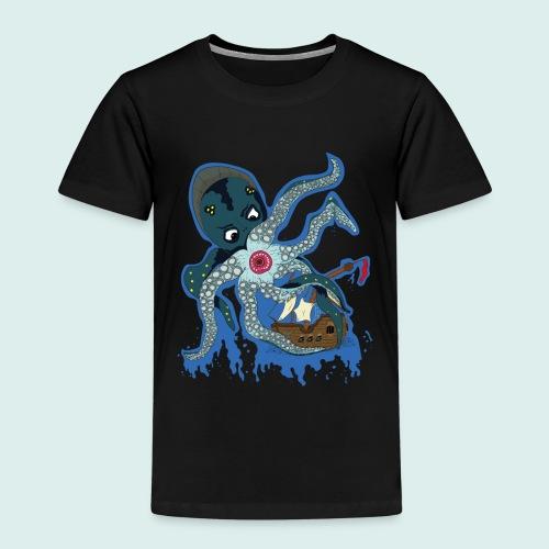 Männer Tank Top mit Ringerrücken - Kraken (Limit - Kinder Premium T-Shirt